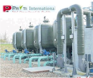Pritiinternational water treatment plant