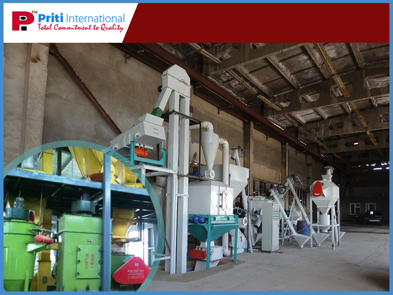 poultry and cattle feed plant