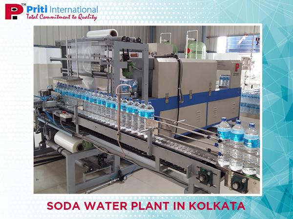 soda water plant, Mineral water plant in kolkata