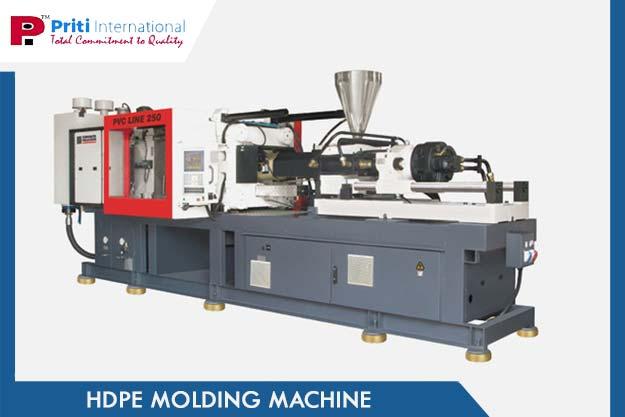 HDPE PVC Molding Machine